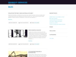 Détails : MAINGUY Services : plomberie, chauffage