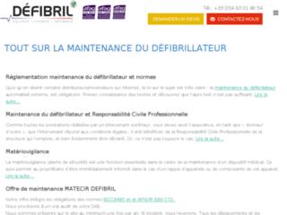 Équiper, former et informer sont les mots clés du site : maintenance-defibrillateur.fr