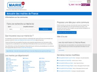 Détails : Mairies, annuaire des mairies de France