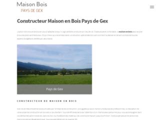 Maison Bois Pays de Gex