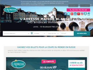 Détails : Maison Blanche Immobilier - Mayenne