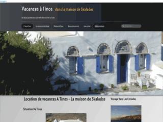 Détails : Vos vacances à Tinos (Cyclades)