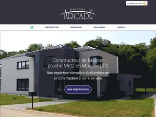 Arcade SAS expert de la conception de maison individuelle à Le Ban-Saint-Martin