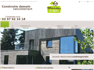Constructeur Maisons IC Bois en Bretagne