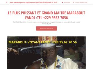 Le Plus Grand et Puissant Maître Marabout Voyant FANDI D'Afrique Et du Monde/ +229 95 62 70 56