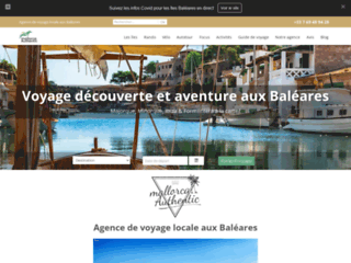 Agence de voyage aux Baléares