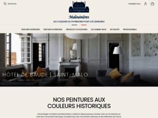 Détails : Malouinières, peintures sur Sain-Malo