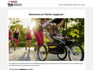 Détails : Mamanjoggeuse.fr : le comparatif de poussettes de sport