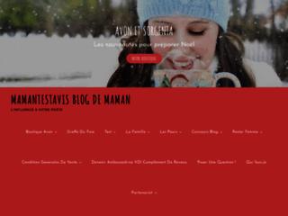 Détails : Mamantestavis Blog Maman