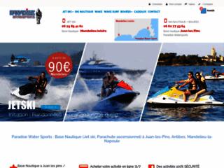 Détails : Mandelieu Paradise, loisirs nautiques