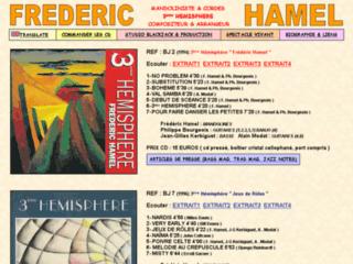Fred. Hamel mandoliniste éclectique