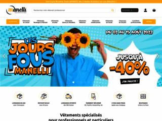 Détails : Boutique en ligne de vêtements professionnels