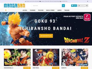 Manga-San : Boutique Manga de figurines, peluches et mugs sous licence