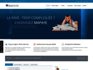 Fiche de paie en ligne - Mapaye