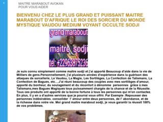 LE PLUS GRAND MARABOUT DU MONDE MAITRE AVOKAN