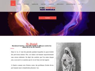 Maitre Dialali : médum africain à Genève