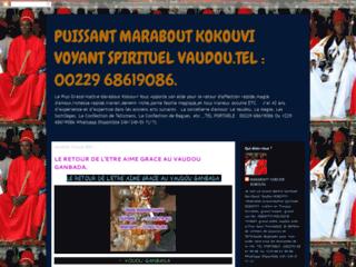 Détails : PUISSANT MARABOUT KOKOUVI VOYANT SPIRITUEL VAUDOU.TEL :+229 68619086.