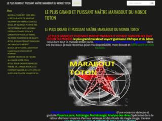 LE PLUS PUISSANT MAÎTRE MARABOUT D'AFRIQUE ET DU MONDE TOTON