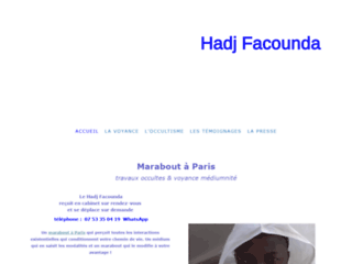 Hadj Facounda