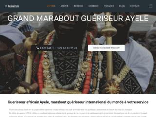Maître Ayele, le grand voyant médium guérisseur puissant d'Afrique