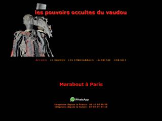 un sorcier du vaudou a Paris