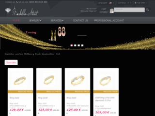 Détails : bagues or et diamant bijouterie en ligne