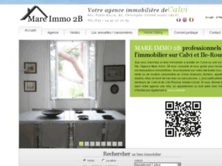 Détails : Mare Immo 2B, agence immobilière à Calvi
