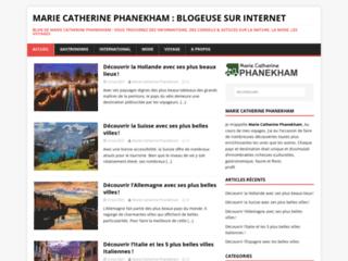 Détails : Marie Catherine Phanekham : Bloggeuse sur Internet