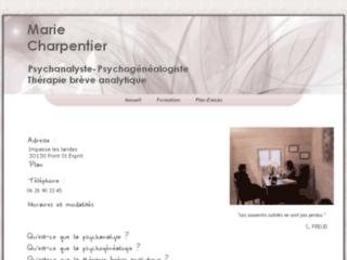 Marie Charpentier - Psychanalyste
