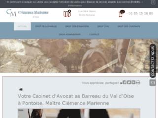 Maître Clémence Marienne, cabinet d'Avocat à Pontoise