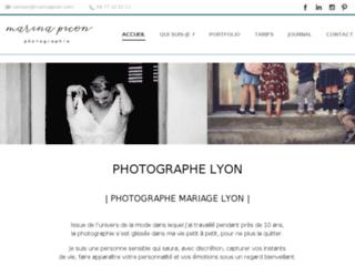 Photographe lyon : Marina Picon photographie