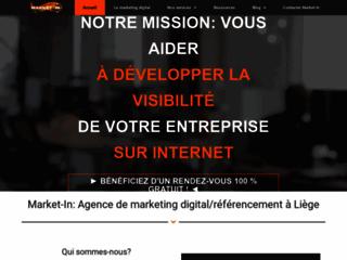 Agence de marketing digital près de Liège: Market-In