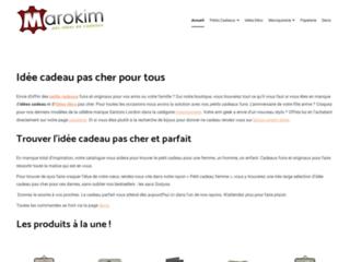 Détails : Des idées cadeaux à la pelle avec Marokim