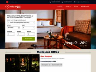 Détails : Riad et Spa à Marrakech