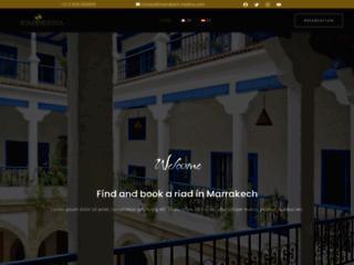 Détails : Marrakech Medina Booking, chambres en Riad au Maroc