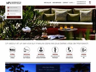 Détails : Marrakech private resort