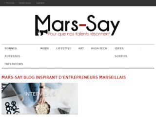 Mars-Say blog Marseille
