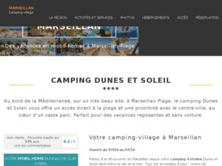 Détails : Camping bord de mer à Marseillan