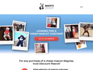 Détails : Achat Mascotte Discount. Déguisement Mascotte.