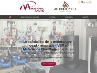 Masnada André - entreprise experte en motoculture et chauffage dans le Doubs