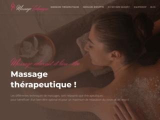 Détails : Le massage technique pro