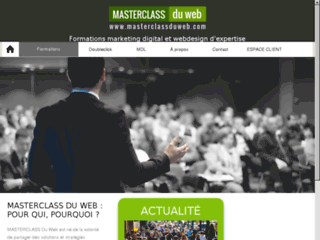 Masterclass du web : formation et stratégies en marketing digital