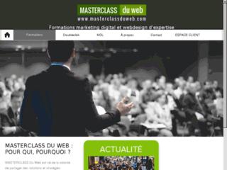 Détails : Masterclass du web : formation et stratégies en marketing digital
