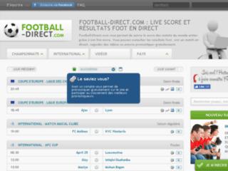 Détails : Match-Endirect.com pour ne manquer aucun résultat foot