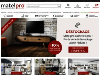 Détails : Matelpro, vente de mobilier en ligne