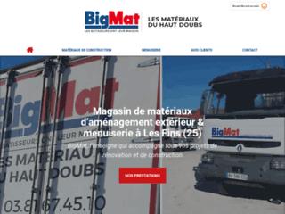 BigMat Les Matériaux du Haut Doubs - vente de matériaux de construction