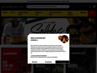 Magasin en ligne pour équipements VTT et vélo-pistes