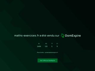 Détails : Mathématiques web soutien scolaire