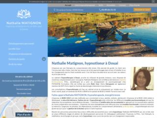 Nathalie Matignon, hypnotiseur à Douai