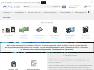 Détails : Système embarqué de l'entreprise matlog